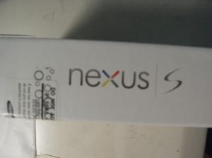 Nexus S box 側面