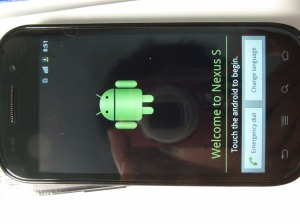 Welcome to Nexus S!